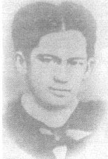 Rizal at 18 years old while a student of medicine at the U.S.T