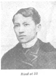 Rizal at age 35